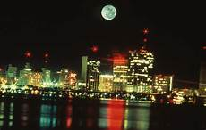 Uhrzeit In Florida - florida memory nighttime view of miami s skyline