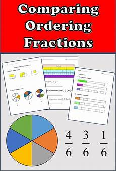 fraction worksheets identifying numerator and denominator 4041 fractions worksheets 3rd grade 4th grade comparing and ordering fractions fractions