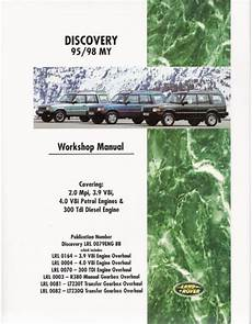 book repair manual 1994 land rover discovery transmission control land rover discovery 1995 1998 model 95 98 my year workshop repair manual book ebay