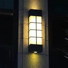 modern vertical marble garden light waterproof outdoor wall l lights villa project courtyard