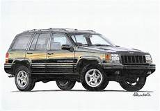 jeep grand zj 5 9 limited paper garage by a