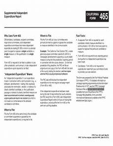 fppc 460 online filing major donor fill online printable fillable blank pdffiller