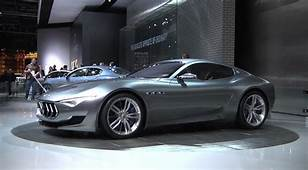 Maserati To Launch Stylish Two Seater Alfieri In 2020 Get