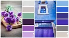 welche farbe bin ich violett und kobaltblau kombinieren couleur cuisine