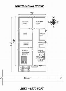 vastu south facing house plan 40 x50 2bhk awesome south facing house plan as per vastu