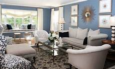 White And Blue Living Room Design In 2019 Blue