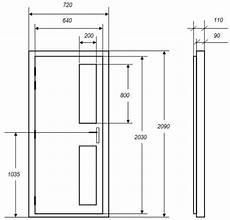 dimension d une porte standard portes isophoniques iso p2v porte acoustique