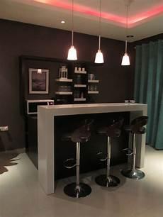bar de salon moderne modern home bar