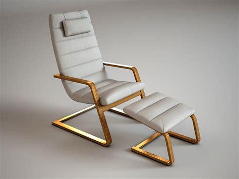 Poltrona Ikea Boliden : 3ds Max Ikea Boliden Chair Footstool
