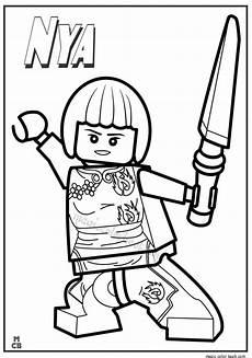 Ausmalbilder Lego Ninjago Ninjago Lego Coloring Pages Nya Basement