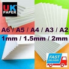 1mm 2mm card board white cardboard backing sheet thick recycled paper a3 a4 grey ebay