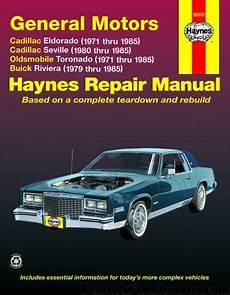 automobile air conditioning repair 1986 buick riviera on board diagnostic system more information for haynes 38030 oldsmobile toronado repair manuals buick riviera