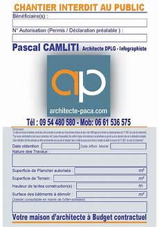 panneau affichage permis de construire affichage permis de construire panneau obligatoire article