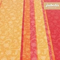 jubelis 174 beschichtete baumwolle abwaschbar lisanne orange h