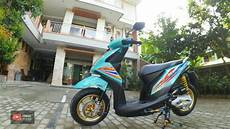 Modifikasi Beat New Babylook by Modifikasi Honda Beat Fi Esp Babylook Velg Ring 12 Honda