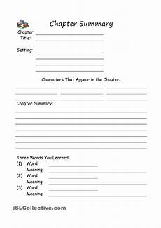 summary writing worksheets for grade 4 22902 chapter summary chapter summary summary writing reading notes