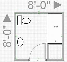 Bathroom Floor Plans 6 X 8 by Can I Push Out My Wall To Get An 8x8 Bathroom Leave Me