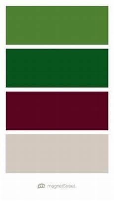 color palette hunter green light grey dark grey pink