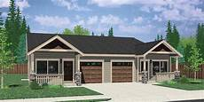 plans for duplex houses one story ranch style house home floor plans bruinier