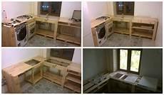 modèle meuble en bois pallets as kitchen furniture 1001 pallets