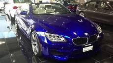 2012 bmw m6 convertible san marino blue metallic with