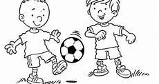 Ausmalbilder Jungs Fussball Langenargen Kinderseite