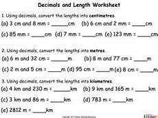 measurement worksheets decimals 1406 measurement teaching pack year 4 9 powerpoint presentations and accompanying worksheets by