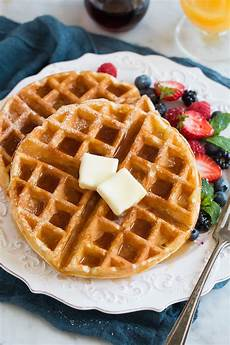 best belgian waffle recipe light fluffy and crisp cooking classy