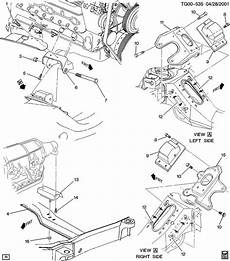 car manuals free online 1992 chevrolet astro electronic valve timing chevrolet astro mount transmission mounting mount trans metric fastener req mount