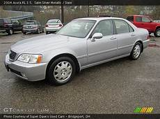 satin silver metallic 2004 acura rl 3 5 slate interior gtcarlot com vehicle archive