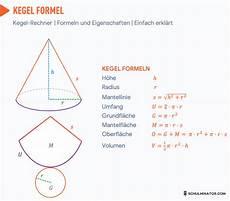 kegel formel berechnen mit kegel rechner und beispielen