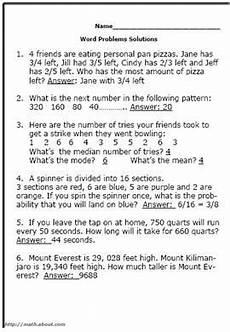 word problems worksheets grade 5 11043 printable 5th grade math word problem worksheets