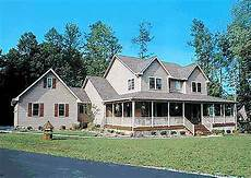 country house plans with porch country home plan with marvelous porches 4122wm