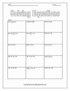 solving two step inequalities worksheet by algebra funsheets tpt