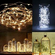 20 30 40 50 100 led string copper wire lights battery powered waterproof ebay