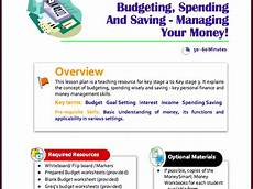 money management worksheets for adults 2245 free spending and budgeting lesson plan for ks2 to ks3 teaching resources