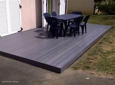 bois composite pour terrasse terrasse bois gris anthracite mailleraye fr jardin