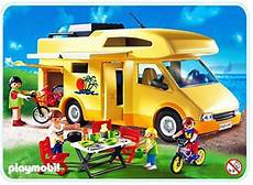 Playmobil Wohnmobil Ausmalbild Famille Cing Car 3647 A Playmobil 174