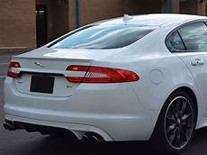 jaguar xf 2009 tuning jaguar xf sedan factory lip spoiler 2009 fg 275