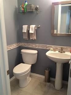 Bathroom Tile Ideas Half Bath by Half Bath Remodel My Projects Half