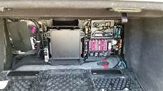 location of the fuse box in audi a8 2012
