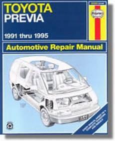 what is the best auto repair manual 1995 acura integra user handbook haynes toyota previa 1991 1995 auto repair manual