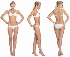 female model front and side the science of how to build muscle full guide