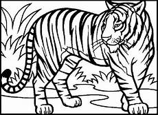 Malvorlagen Zum Ausdrucken Tiger Tiger Ausmalbilder Ausmalbilder Tiere Ausmalbilder