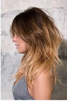 Lange Haare Stufenschnitt Haare Lange Stufenschnitt