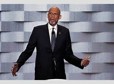 Kareem Abdul Jabbar?s Speech At DNC ? He & Muslim Soldier
