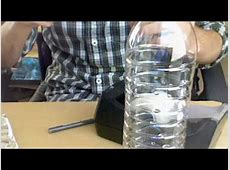how to make a plastic water bottle