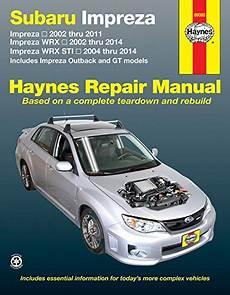 online auto repair manual 2002 subaru outback sport transmission control subaru impreza 2002 thru 2011 impreza wrx 2002 thru 2014 import it all
