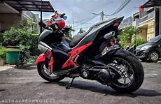 Aerox 155 Modif Touring by Modifikasi Yamaha Aerox 155 Aufaproject