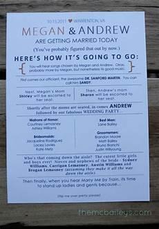 10 creative wedding program ideas fantabulously frugal